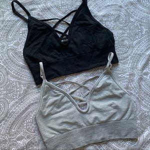 Victoria's Secret PINK bralettes sports bras set